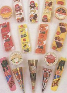 ארטיקים וגלידות