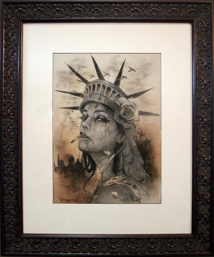 Portrait Painting by Brian M. Viveros