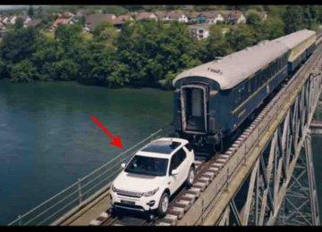 הג'יפ הזה מסוגל לסחוב לבדו רכבת ששוקלת 100 טונות – מטורף!