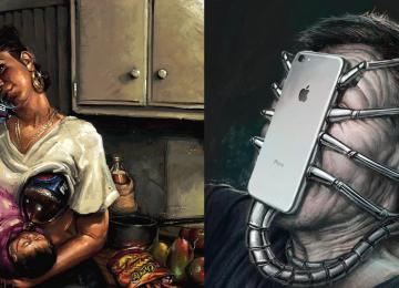 18 תמונות אשר מראות כי הטכנולוגיה המודרנית הופכת את החיים שלנו לאחרים ומוזרים!
