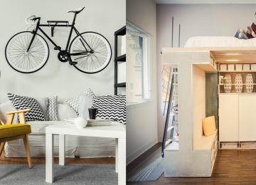 בעלי דירה קטנה? הנה 15 רעיונות שיעזרו לכם לשדרג אותה למרות הכל!