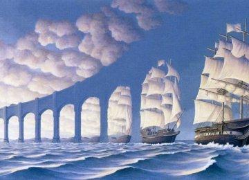 צייר קנדי יוצר איורים אשר יתעתעו בכם מעבר כל דמיון!