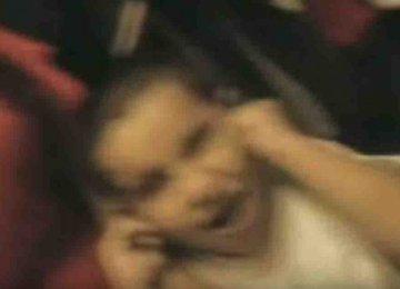 מפחיד – היא שמעה רעשים מהחדר וכשהיא נכנסה לשם זה מה שקרה לה!