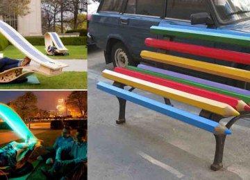 15 ספסלים יצירתיים מרחבי העולם, שלא רק כייף לשבת עליהם אלא גם להביט בהם