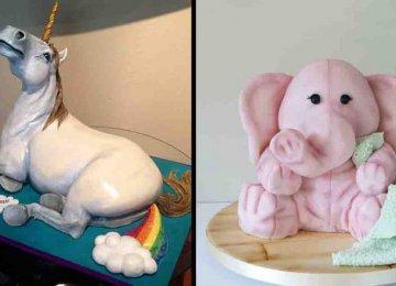 מדהים – 40 עוגות יצירתיות ומושלמות שפשוט לא נעים לתת בהן ביס ולהרוס אותן