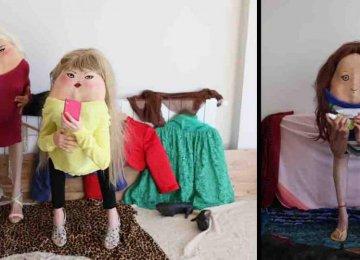 הצלמת הזו גורמת לאנשים להתקפל ולאחר מכן היא מציירת פרצופים על גבם והתוצאה פשוט קורעת מצחוק
