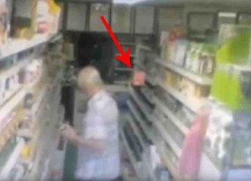 מפחיד – הוא היה באמצע קניות ואז לפתע הדבר ההזוי הזה קרה