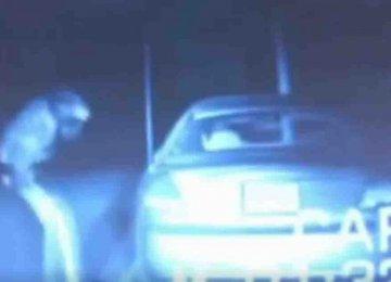 הזוי – השוטר ניסה לעצור את הרכב הזה אבל אז קרה הדבר הלא מוסבר הבא