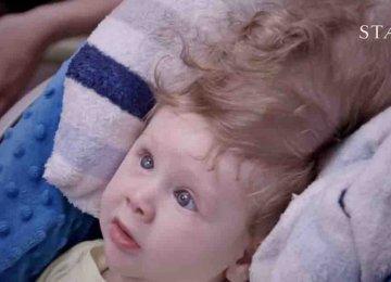 תינוק נולד עם מוח מחוץ לגולגלתו – ניתוח ייחודי הציל את חייו