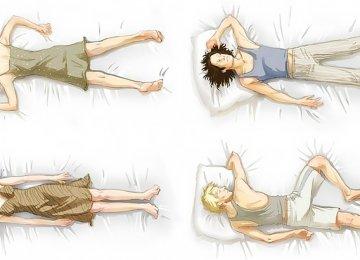 שימו לב! זה מה שתנוחת השינה שלכם מגלה על האישיות שלכם!