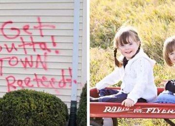 ההורים קיבלו קריאות נאצה לאחר שאימצו 2 בנות שלוקות בתסמונת דאון – אך אז 2 ילדיהם הקטנים עשו משהו שריגש את העולם
