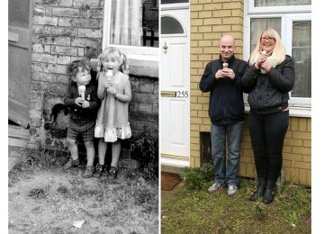 הצלם הזה מצא אנשים שהוא צילם לפני 40 שנה – ושיחזר את התמונות שלהם!