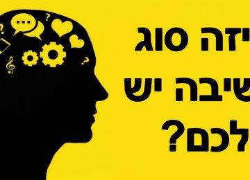 איזה סוג חשיבה יש לכם? המבחן הפשוט הזה יחשוף את הכל