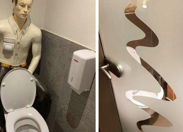 15 חדרי שירותים יוצאי דופן שאין סיכוי שראיתם בשום מקום