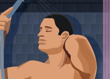 12 דברים שגברים חושבים עליהם בזמן שהם מתקלחים, מעניין!!