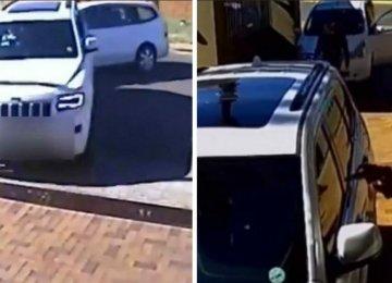 החוטפים הקיפו את הרכב של המשפחה עם נשקים שולפים – אך מהר מאוד הם הבינו שהם נפלו על האישה הלא נכונה ונסו על נפשם
