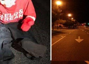 """המשטרה מזהירה: """"אם אתם רואים ילד יושב על הכביש בעת נהיגה: תנעלו את הדלתות מיד!"""""""