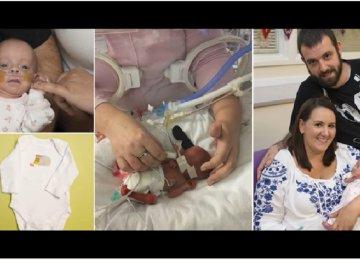 הרופאים קראו להורים להיפרד מהתינוקת שזה עתה נולדה – אך אז קרה הבלתי יאומן שריגש את העולם