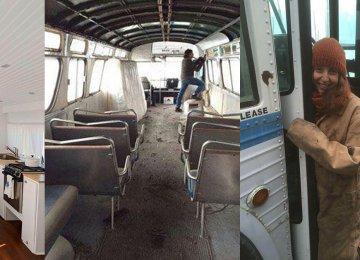 הילדה הזאת השקיעה 3 שנים בכדי להפוך את האוטובוס הנטוש לביתה החלומי לתוצאה הזו אפילו היא לא ציפתה