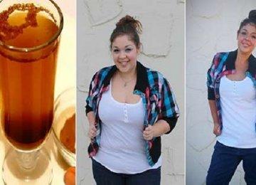 היא הורידה 7 קילו ב-10 ימים בעזרת המשקה הדיאטטי הביתי הזה שמומלץ מאד!
