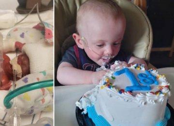 """""""הפג הקטן ביותר בעולם"""": תינוק שנולד אחרי ארבעה חודשי הריון שבר שיא גינס"""
