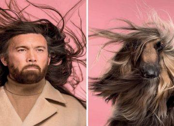 ויראלי! צלם אירגן צילומי כלבים ובעלים שבאופן מאוד מחשיד ממש דומים פיזית