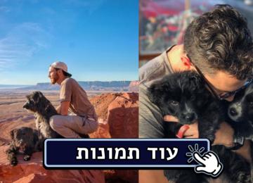 הוא מצא שני גורים גוססים באמצע המדבר… ולקח אותם לטיול הכי מדהים שיש!