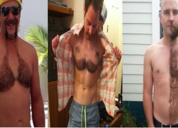גברים משתפים תמונות של השיער החתוך הטרי שלהם וזה נראה..איך נאמר? טרנדי ומוזר!