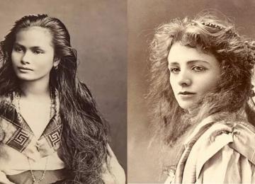 תמונות בני 100 שנה של הנשים היפות ביותר של המאה שעברה!