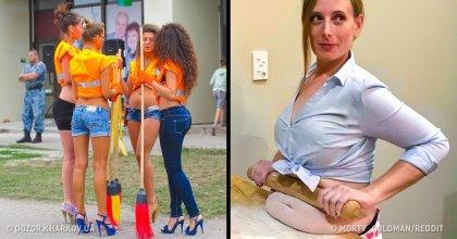 16 תמונות מצחיקות שיגרמו לכם לשבור את הראש עד שתבינו מה קורה בהן בכלל