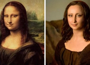 מוזיאונים ביקשו מאנשים לשחזר ציורים מפורסמים בבית. הנה 23 תוצאות נפלאות.