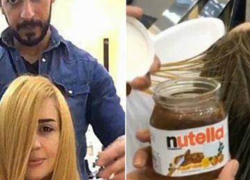 מעצב השיער שמשתמש בנוטלה כדי לצבוע את השיער ללקוחות שלו!! WTF!
