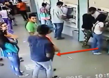 """השודד הזה חשב שהוא יעשה """"מכה"""", אבל במקום הוא חוטף אחת כזו!"""