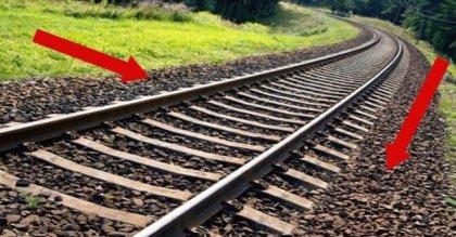 זאת הסיבה האמיתית לכך שמכסים פסי רכבת בחצץ. בחיים לא הייתי מנחש!