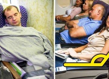 9 טיפים שיעזרו לכם להירדם בקלות בטיסה