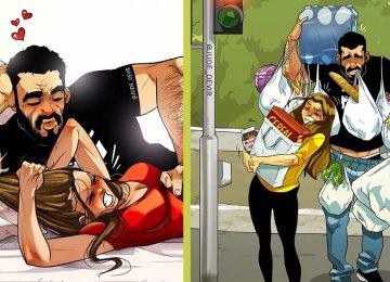 הישראלי שצבר מילוני עוקבים בזכות הקומיקס על חיי הזוגיות שלו חזר בענק – כל מי שהיה במערכת יחסים חייב לראות את התמונות האלו (הרשימה המלאה)