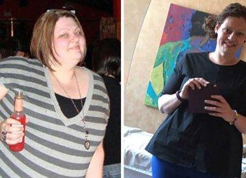 """היא הצליחה לרדת 120 ק""""ג – כעת היא חושפת את ה3 הסודות שעזרו לה לרדת במשקל"""