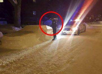 """השוטרים נתנו דו""""ח לרכב שחנה בצורה לא חוקית – אך הייתה רק בעיה אחת"""
