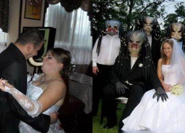 היום גיליתי את תמונות החתונה ההזויות ביותר ברשת